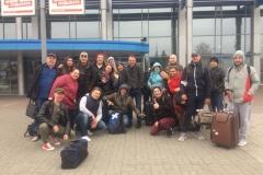 ТЮЗ_гастроли в Томск, встреча в аэропорту