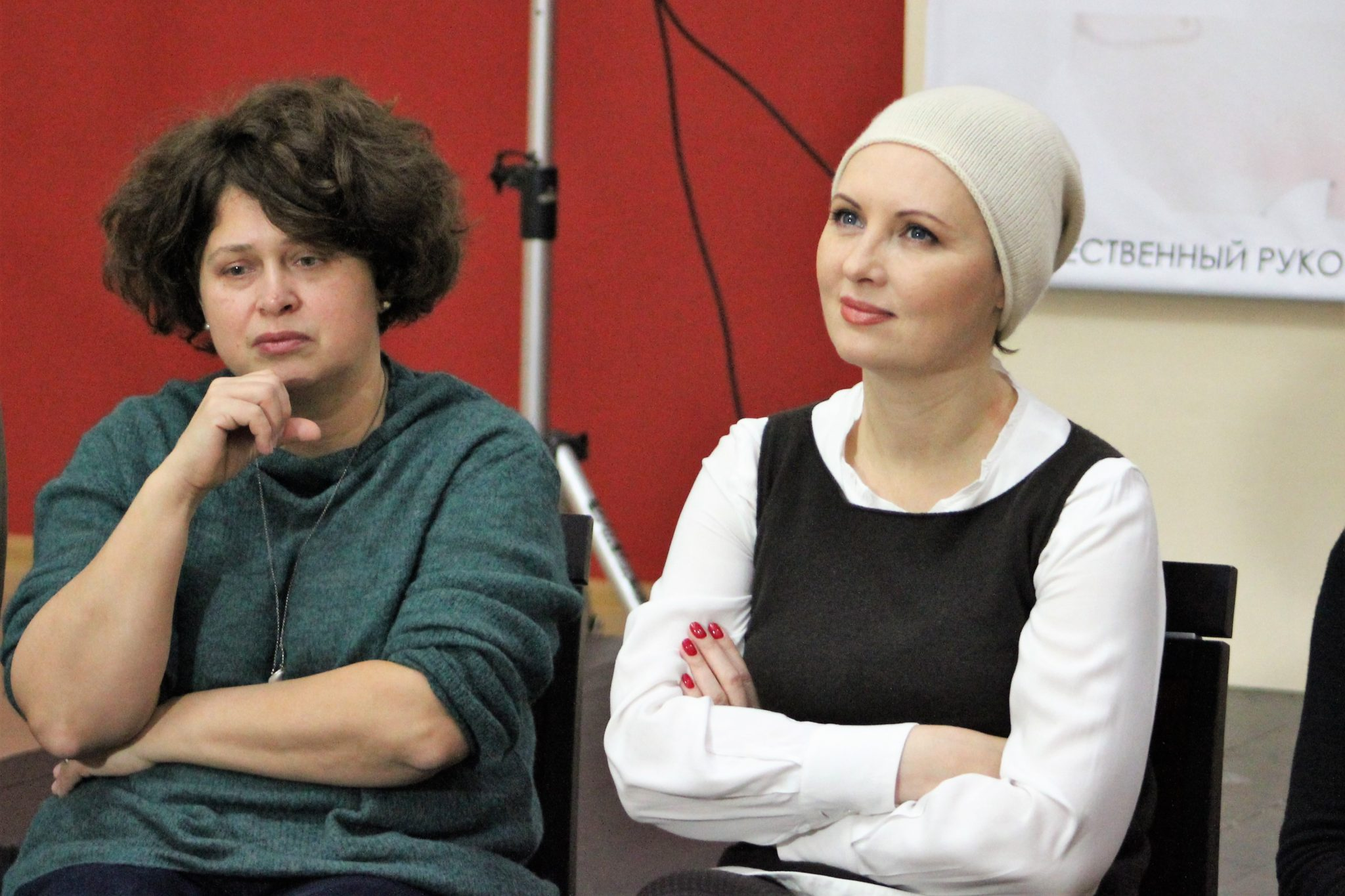 Активный театр дал пресс-конференцию астраханским СМИ