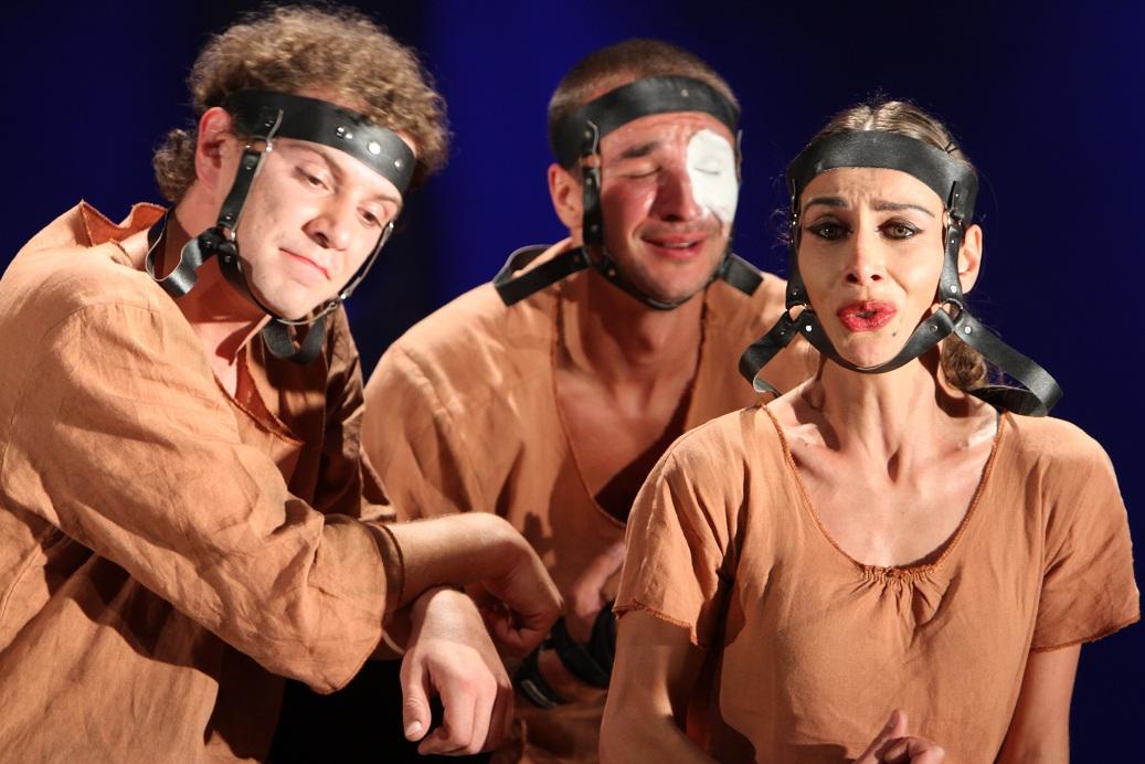 Гастроли Тбилисского драматического театра