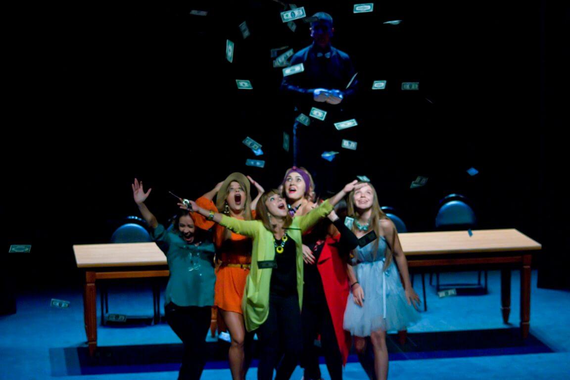 Астраханцы увидели спектакль в исполнении непрофессиональных актеров