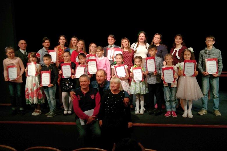 В ТЮЗе вручили дипломы очередным финалистам конкурса «Театральная семья»
