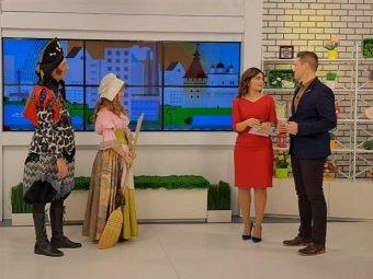Астраханский ТЮЗ в гостях у телепередачи «Всем подъём»